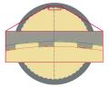 B285 LBG Laser Gage
